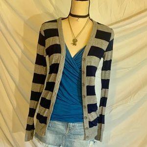 Sweater Jacket button down cardigan XS